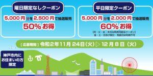神戸市の宿泊割引「KOBEプレミアム宿泊クーポン」4月12日開始 Go To トラベル・ふっこう割クーポンを徹底解説
